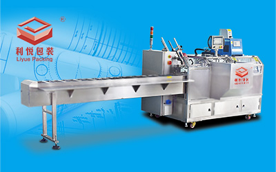 Box Packing machine made of stainless steel for food